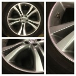 Restored Nissan Murano Wheel with new simulated HyperSilver finish
